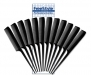 #3801-P12-B Pro Fine Rattail Comb Pack 12 ct.